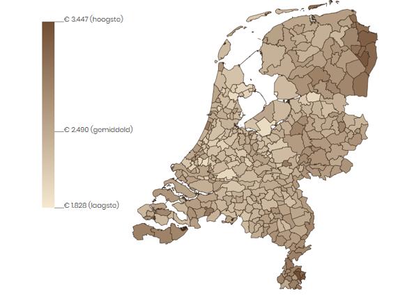 Gemeentecijfers van Vektis Intelligence: inwoners Heerlen maken gemiddeld hoogste kosten in Zvw